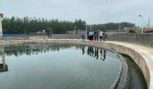 胡(hu)曉明帶隊(dui)調研全(quan)區污水處理工作